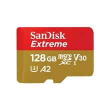รูปภาพของ SanDisk EXTREME MicroSD UHS-I Class 10 128 GB (SDSQXA1)