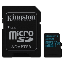 รูปภาพของ Kingston MicroSDXC Class 10 UHS-I U3 32 GB (SDCG2/32GB)