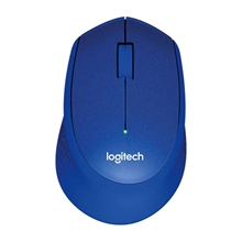 รูปภาพของ เม้าส์ไร้สายออฟติคัล Logitech Silent Plus M331 Blue