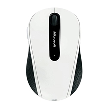 รูปภาพของ Microsoft Wireless Mobile Mouse 4000 USB BlueTrack White