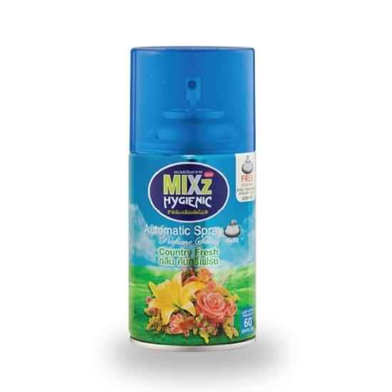 รูปภาพของ สเปรย์ปรับอากาศ Mixz Hygienic รีฟิล Country Fresh 300 cc.