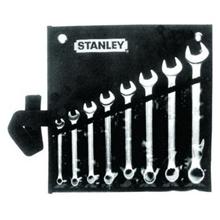 รูปภาพของ ชุดประแจแหวนข้างปากตาย 8 ชิ้น STANLEY รุ่น 87-011-1