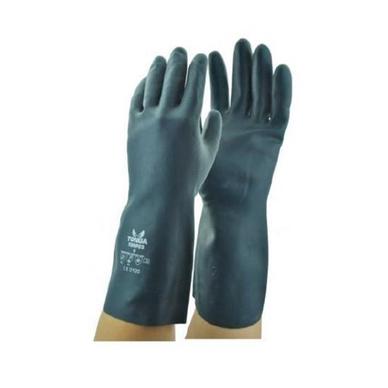 รูปภาพของ ถุงมือยางนีโอพรีน TONGA ไซส์ XL สีดำ