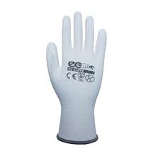 รูปภาพของ ถุงมือถักเคลือบ PU MICROTEX รุ่น ECO-PU สีขาว (L)