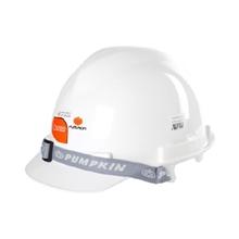 รูปภาพของ หมวกนิรภัยปรับเลื่อน PUMPKIN รุ่น 20553 สีขาว