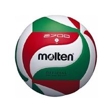 รูปภาพของ ลูกวอลเล่ย์บอลหนังอัด PVC MOLTEN รุ่น V5M2700 สีขาว/เขียว/แดง