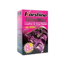 รูปภาพของ เคลือบเงาหนัง Karshine Ultra Wax Bubble gum สีชมพู 150ml.