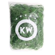 รูปภาพของ หนังยาง วงเล็ก ยี่ห้อ KW บรรจุแพ็คละ 0.5 กก. สีเขียว