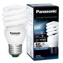 รูปภาพของ หลอดไฟ Eco-Spiral Panasonic EFDHV15L27T 15w (ซอฟต์วอร์ม)