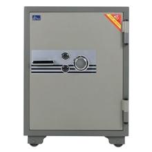 รูปภาพของ ตู้เซฟนิรภัย VITAL VT-100SKK รหัสหมุน ขนาดกลาง สีเทา