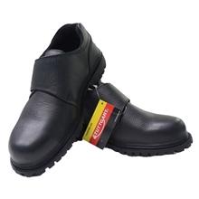 รูปภาพของ รองเท้านิรภัยหุ้มส้น STUTTGART รุ่น SF-208 Size 4 พื้นยาง สีดำ