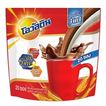 รูปภาพของ เครื่องดื่มช็อคโกแล็ตโอวัลติน 3in1ขนาด 29 กรัม (1x20)