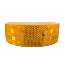 รูปภาพของ แถบสะท้อนแสงติดรถ 3M Diamond grade สีเหลือง 55มม.X50เมตร