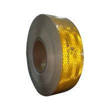รูปภาพของ แถบสะท้อนแสงติดรถ A-TAP สีเหลือง 55มม.X50เมตร