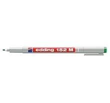 รูปภาพของ ปากกาเขียนแผ่นใส EDDING 152M 1.0มม. ลบได้ สีเขียว(กล่อง 10 ด้าม)