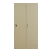 รูปภาพของ ตู้ล็อกเกอร์บานเปิด 2 ประตู METAL PRO MET-6102N สีครีม