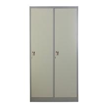 รูปภาพของ ตู้ล็อกเกอร์บานเปิด 2 ประตู METAL PRO MET-6102N สีเทา