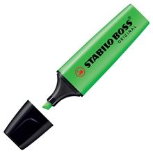 รูปภาพของ ปากกาเน้นข้อความ สตาบิโลบอส สีเขียว