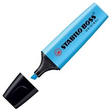 รูปภาพของ ปากกาเน้นข้อความ สตาบิโลบอส สีฟ้า
