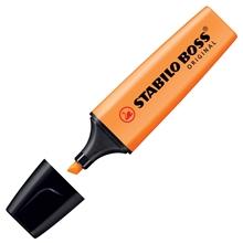 รูปภาพของ ปากกาเน้นข้อความ สตาบิโลบอส สีส้ม