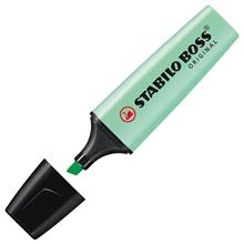 รูปภาพของ ปากกาเน้นข้อความ STABILO BOSSPastel 70/116 สีเขียว