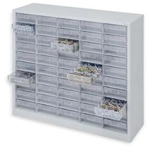 รูปภาพของ ตู้เก็บอะไหล่ TOOLMAX CBL0510N 10ชั้น50ช่องใส 1080X307X980mm. สีเทา