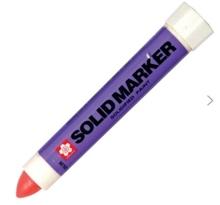 รูปภาพของ ปากกาโซลิคมาร์คเกอร์ ซากุระ สีแดง