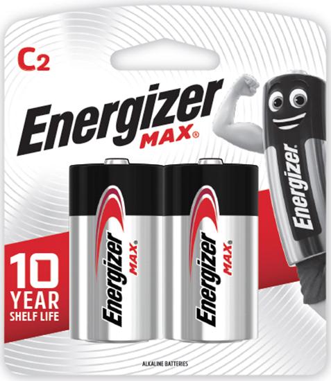 รูปภาพของ ถ่านอัลคาไลน์ ENERGIZER E93-BP2 C(แพ็ค 2 ก้อน)
