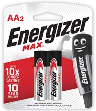 รูปภาพของ ถ่านอัลคาไลน์ ENERGIZER แม็กซ์ E91-BP2 AA(แพ็ค 2 ก้อน)