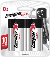 รูปภาพของ ถ่านอัลคาไลน์ ENERGIZER แม็กซ์ E95-BP2 D(แพ็ค 2 ก้อน)