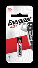 รูปภาพของ แบตเตอรี่ Energizer A27 12 โวลต์
