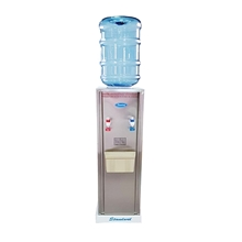 รูปภาพของ ตู้ทำน้ำร้อน-น้ำเย็นสแตนเลส Standard ST15HC+ถังใส่น้ำ+ขารองตู้