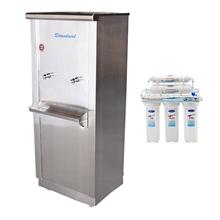 รูปภาพของ ตู้น้ำเย็นสแตนเลส Standard RC02UF5 ต่อตรงท่อปะปา 2 ก๊อก+เครื่องกรอง