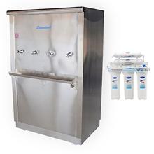 รูปภาพของ ตู้น้ำเย็นสแตนเลส Standard RC04UF5 ต่อตรงท่อปะปา 4 ก๊อก+เครื่องกรอง