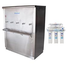 รูปภาพของ ตู้น้ำเย็นสแตนเลส Standard RC05UF5 ต่อตรงท่อปะปา 5 ก๊อก+เครื่องกรอง