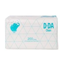 รูปภาพของ กระดาษเช็ดมือ D-DA 2 ชั้น 200แผ่น/ห่อ