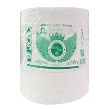 รูปภาพของ กระดาษชำระจัมโบ้โรลเวอร์จิ้น GREEN SAFE 2ชั้น 260ม 1x3ม้วน 12ม้วน/ลัง