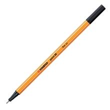 รูปภาพของ ปากกาหัวเข็ม STABILO 88-46 0.4 มม. สีดำ