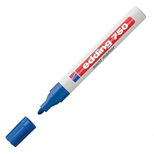 รูปภาพของ ปากกาเพ้นท์ EDDING 750 2-4 มม. สีน้ำเงิน