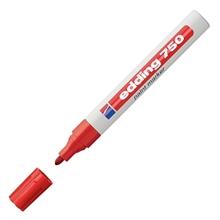 รูปภาพของ ปากกาเพ้นท์ EDDING 750 2-4 มม. สีแดง