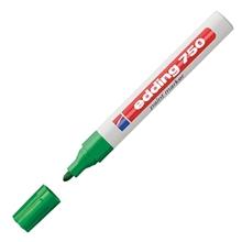 รูปภาพของ ปากกาเพ้นท์ EDDING 750 2-4 มม. สีเขียว