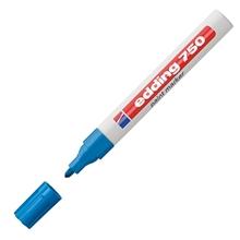 รูปภาพของ ปากกาเพ้นท์ EDDING 750 2-4 มม. สีฟ้า