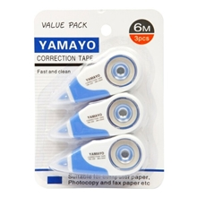 รูปภาพของ เทปลบคำผิด YAMAYO YM-230-3 5 มม.x 6 ม. แพ็ค 3 ชิ้น