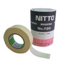 รูปภาพของ เทปกระดาษกาวย่น NITTO 3/4''x18ม. แกน 1'' แพ็ค 5 ม้วน