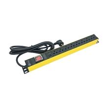 รูปภาพของ ปลั๊กไฟ Power Connex PXC5PHTTS-TS08 8 ช่อง 1 สวิทซ์ 3 เมตร เหลือง
