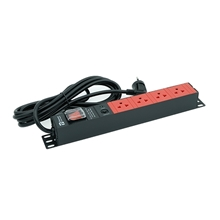 รูปภาพของ ปลั๊กไฟ Power Connex PXC5PHTNS-TS04 4 ช่อง 1 สวิทซ์ 3 เมตร แดง