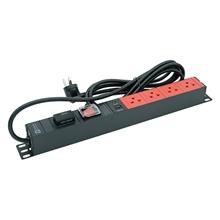 รูปภาพของ ปลั๊กไฟ Power Connex PXC5PHTSS-TS04 4 ช่อง 1 สวิทซ์ 3 เมตร แดง