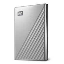 รูปภาพของ WD My Passport Ultra 4TB Silver (WDBFTM0040BSL-WESN)
