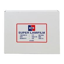รูปภาพของ พลาสติกเคลือบบัตร Sanko 125 ไมครอน 100x135 มม.(กล่อง 100 แผ่น)