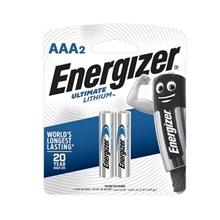 รูปภาพของ ถ่านอีสแควร์ลิเธียม ENERGIZER L92-BP2 AAA(แพ็ค 2 ก้อน)
